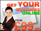 get your business online from 99 pounds!