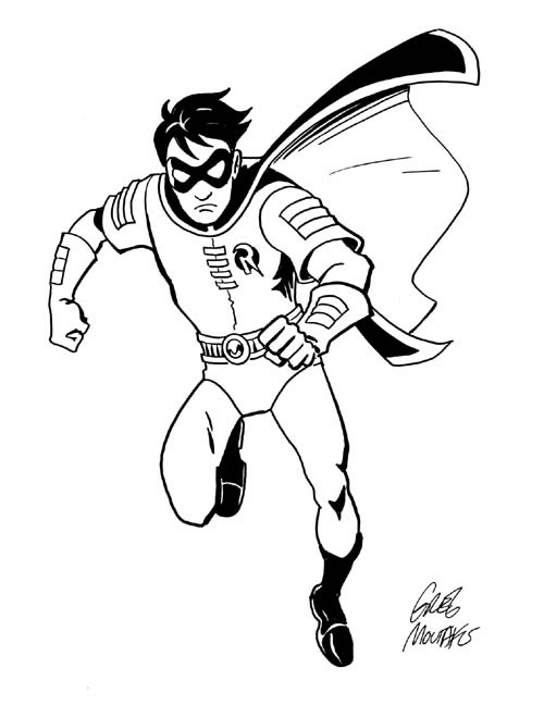coloring pages of robins - photo#3